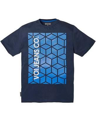 Voi Jeans Cube Navy T-Shirt Regular