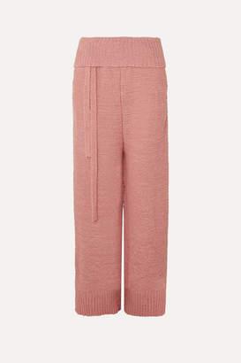 Stella McCartney Cotton-blend Pants - Blush