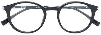HUGO BOSS classic round glasses