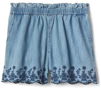 Gap Embroidery Culotte Shorts