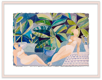 One Kings Lane Bathers II Painting Art