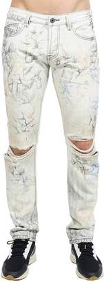 Cult of Individuality Greaser Distressed Slim Straight Jeans