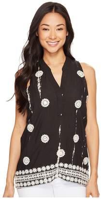 Tolani Jenna Embroidered Tank Top Women's Sleeveless