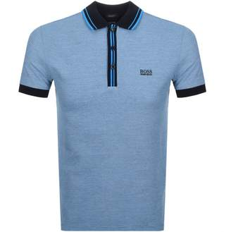 BOSS Athleisure Paddy 2 Polo T Shirt Blue