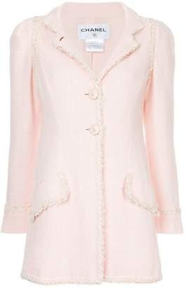 Chanel PRE-OWNED embellished trim jacket