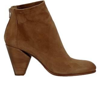 Elena Iachi Biscotto Suede Ankle Boots