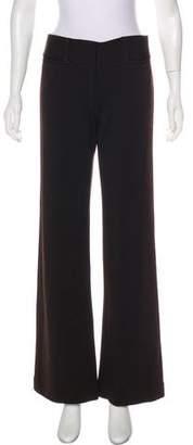 Diane von Furstenberg Wool-Blend Flared Pants