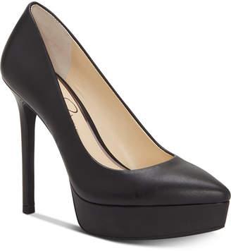 Jessica Simpson Lael Pointed-Toe Platform Pumps Women Shoes