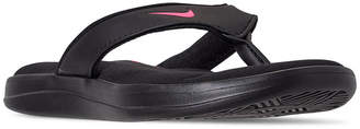 b784cfb3f Nike Women Ultra Comfort 3 Thong Flip Flop Sandals from Finish Line