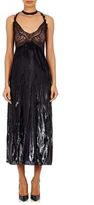 Nina Ricci WOMEN'S METALLIC VELVET DRESS