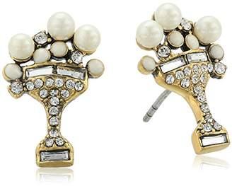 "Marc Jacobs Resort 2016"" Martini Stud Earrings"