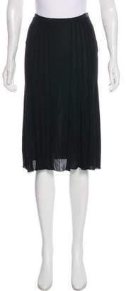 Jean Paul Gaultier Knee-Length Slip Skirt