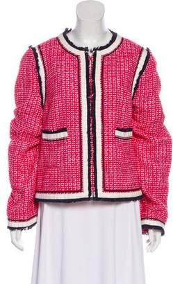 Tory Burch Casual Tweed Jacket