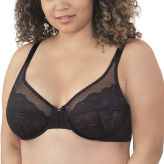Vanity Fair Women's Flattering Lift Full Figure Non-Padded Underwire Bra 76112