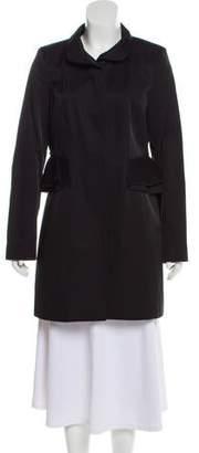 Tahari Long Sleeve Short Coat