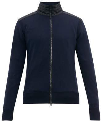 Belstaff Kelby Merino Wool Zip Through Jacket - Mens - Navy