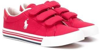Ralph Lauren Kids touch-strap sneakers