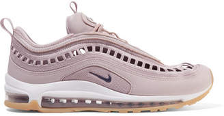 Nike Air Max 97 Ultra 17 Si Cutout Mesh And Leather Sneakers - Lilac