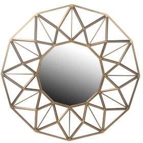 Mercer41 Round Glass Bevel Wall Mirror