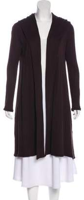 Alexander Wang Hooded Open Front Cardigan