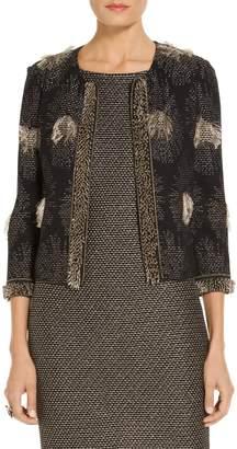 St. John Stellar Fil Coupe Knit Jacket