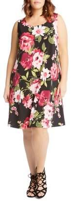 Karen Kane Chloe Floral Trapeze Dress