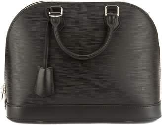 Louis Vuitton Noir Epi Leather Alma PM Bag (Pre Owned)