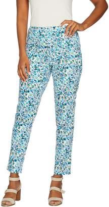 C. Wonder Petite Nantucket Floral Print Ankle Pants