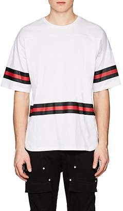 Stampd Men's Striped Cotton Hockey T-Shirt