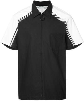 Off-White diagonal stripes shirt