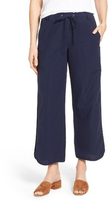 Women's Eileen Fisher Organic Cotton Drawstring Ankle Pants $198 thestylecure.com