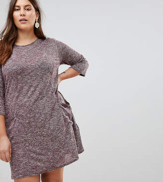Asos New Look Plus New Look Curve Longline Tunic