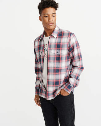 Abercrombie & Fitch Full-Zip Shirt