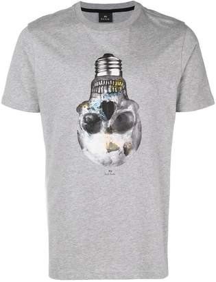 Paul Smith skull bulb print T-shrit