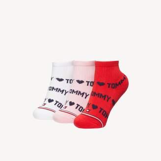 Tommy Hilfiger TH Baby Quarter Top Sock 3PK