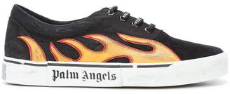 Palm Angels flame low top sneakers