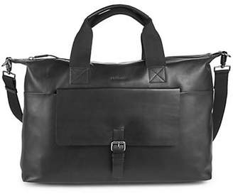 Strellson Leather Weekender Bag