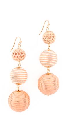 Shashi Matilda Striped Earrings $45 thestylecure.com