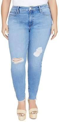 Sanctuary Curve Solution Social Skinny Jeans in Zuma Beach Blue