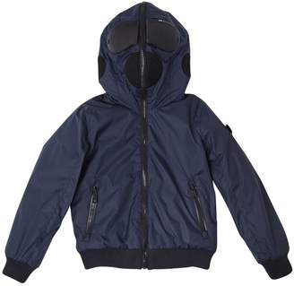 AI Riders On The Storm Reversible Nylon & Terrycloth Jacket