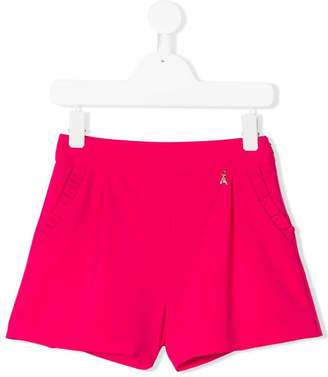 Patrizia Pepe Junior frill trim shorts