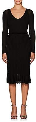 Altuzarra Women's Magus Metallic Rib-Knit Dress