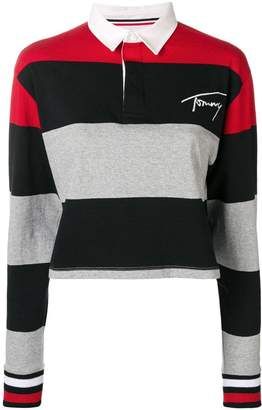 Tommy Jeans striped polo shirt