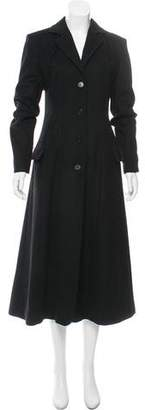 Antonio Berardi Wool & Cashmere Long Coat
