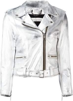 Golden Goose 'Chiodo' metallic jacket