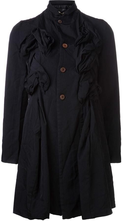 Comme des Garcons notched collar jacket