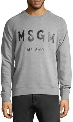MSGM Logo Crew Sweatshirt