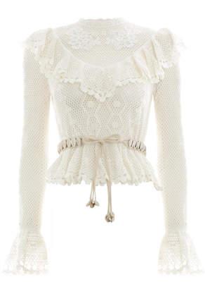 Zimmermann Allia Crochet Top