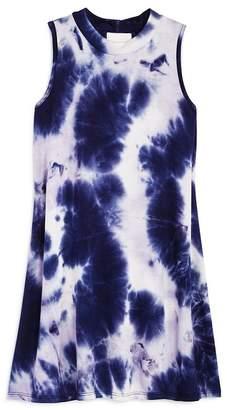 Aqua Girls' Tie-Dyed Swing Dress, Big Kid - 100% Exclusive