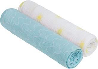 Lassig Muslin Swaddle & Burp Blanket XL
